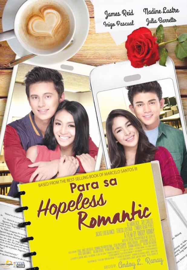 Para Sa Hopeless Romantic movie poster by Star Cinema