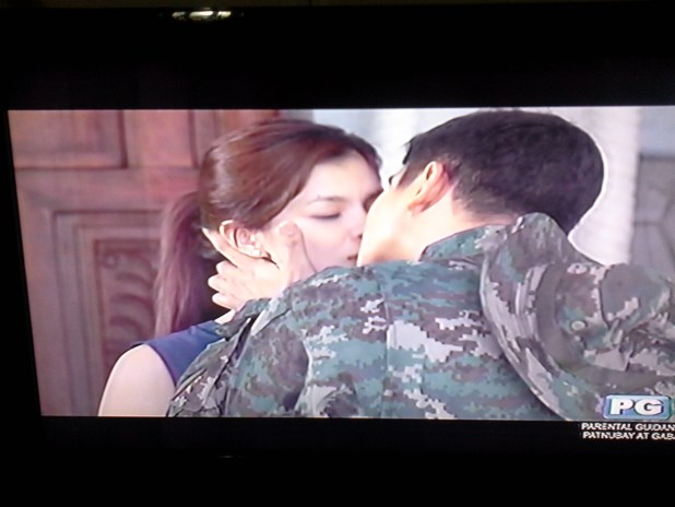 cocogel coco martin & angel locsin on MMK Fallen 44 Tribute