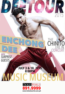 Enchong Dee DeeTour Concert at Music Museum