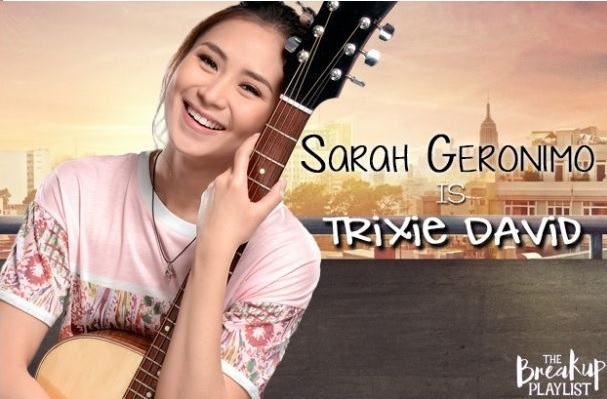 Sarah Geronimo as Trixie David in The Breakup Playlist