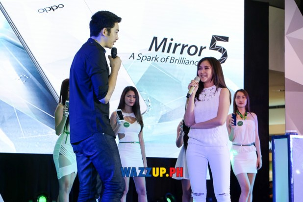 Sarah Geronimo at the OPPO Mirror 5 Launch A Spark of Brilliance-0232