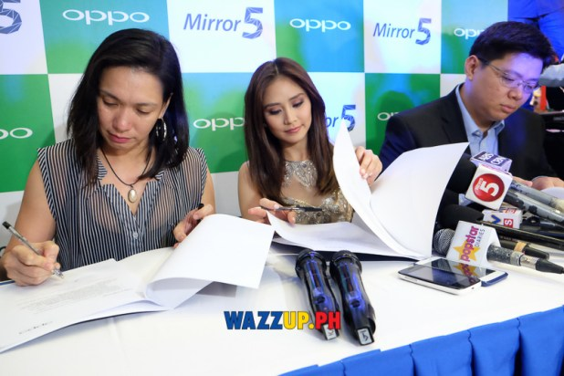 Sarah Geronimo at the OPPO Mirror 5 Launch A Spark of Brilliance-0270