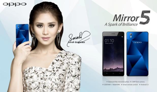 Sarah Geronimo new ambassador of OPPO