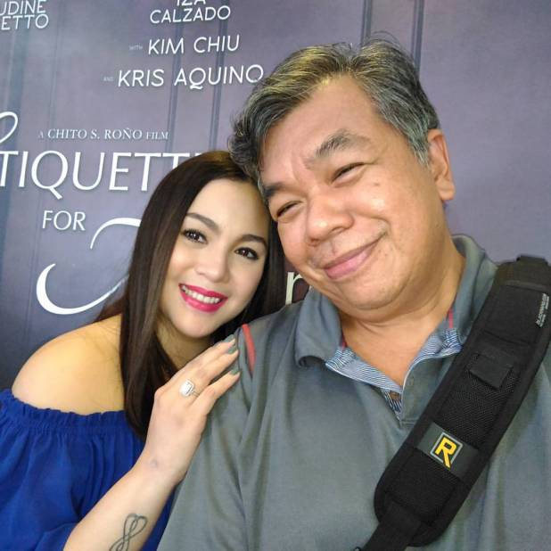 ted claudio photo ops with claudine barretto of etiquette for mistresses at her blogcon