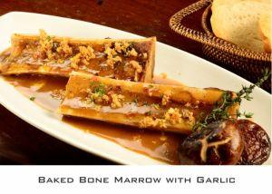 Baked Bone Marrow with Garlic (2)