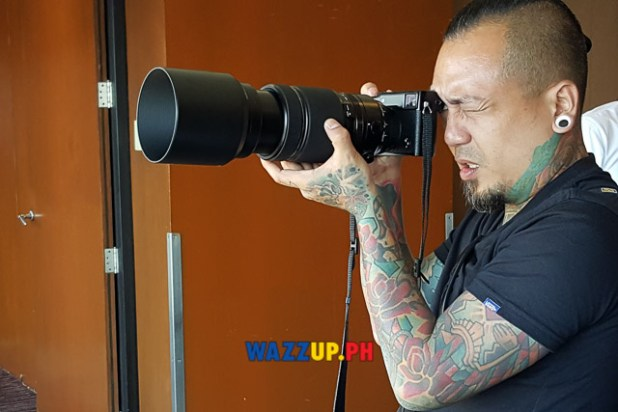 Jay Contreras of Kamikazee Interview at the Fujifilm X-Pro2 X-E2s X70 Launch