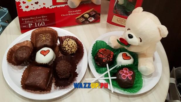 Mr donut valentines gift teddy bear -143408