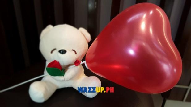 Mr donut valentines gift teddy bear -150004