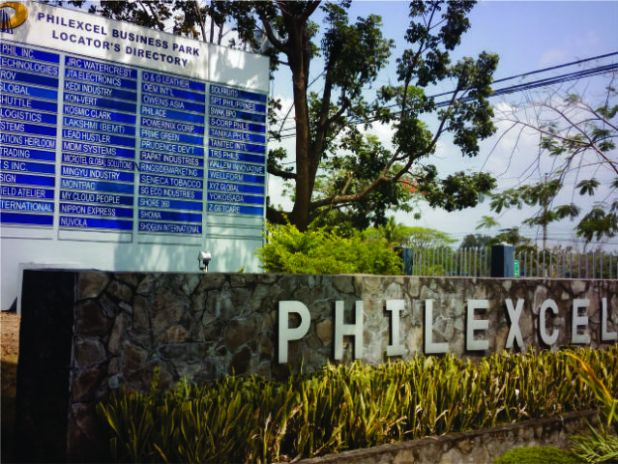 PHILEXCEL Business Park entrance