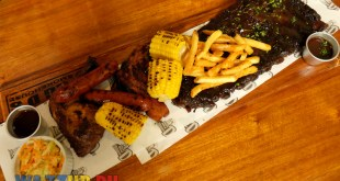 Big D's Smokehouse Restaurant Southern Comfort Food Ribs Steaks -Southern Platter