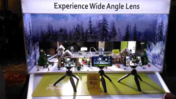 Experience wide angle camera
