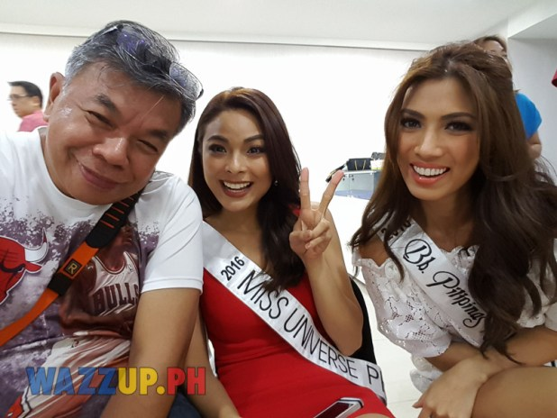 Miss Universe Philippines 2016 Maxine Medina with Ted Claudio-181510