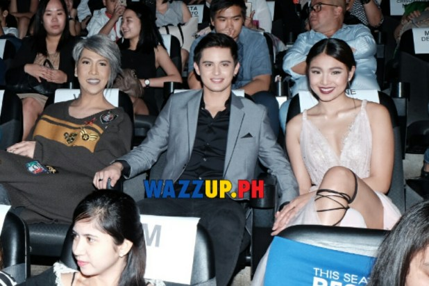 This Time Premiere Night James Reid Nadine Lustre AT SM Megamall