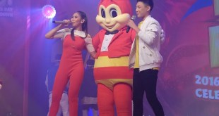 Darren Espanto and Sarah G with Jollibee at the Grand Independence Day Celebration and Countdown