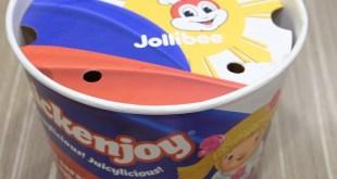 Jollibee chicken joy pinoy and proud bucket design