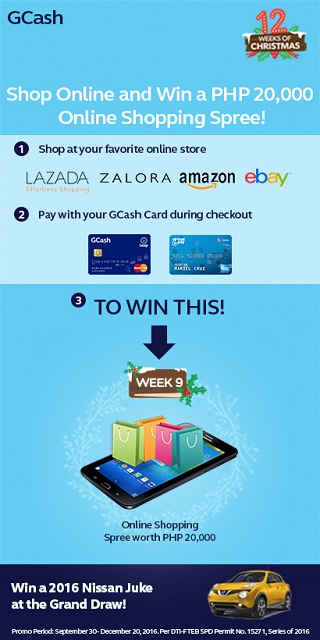 How to Win a Php 20,000 Online Shopping Spree with GCash – Wazzup PH