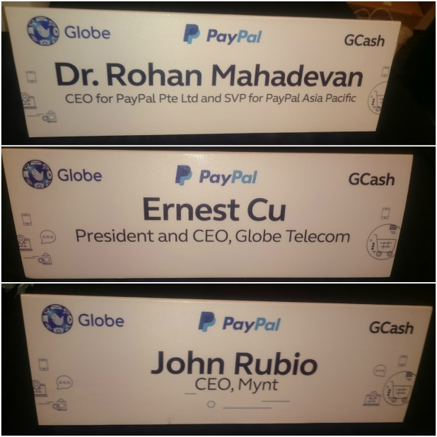 Paypal name cards