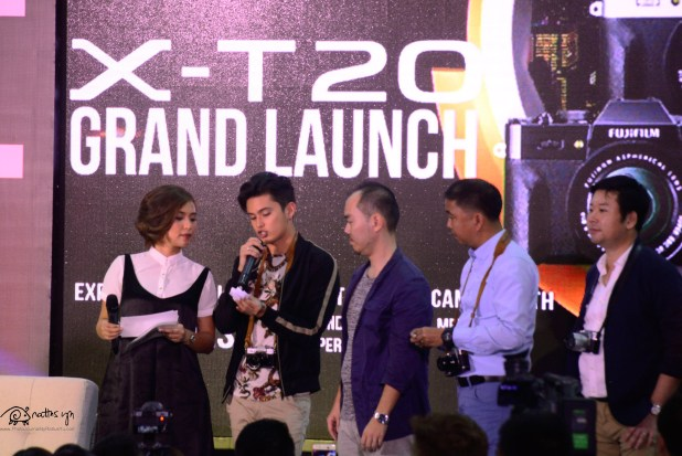 2017.03.11 Fujifilm Philippines Launches the X-T20, with James Reid as guest (2)