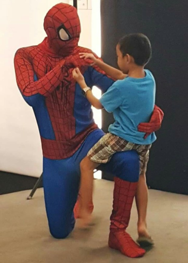 Playing with Spider-Man