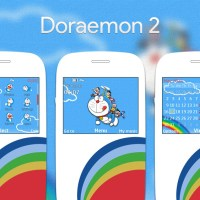Doraemon theme for Nokia C3-00 X2-01 320x240 s406th