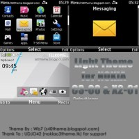 Light (Default icon) theme for Nokia C3-00