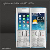 i style theme for Nokia 240x320 s406th