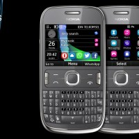 Midnight theme for Nokia Asha 302 320x240 s406th