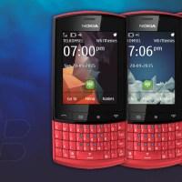 BlackBerry 10 style theme Asha 300 touch type 240x320