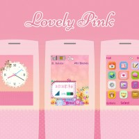 Lovely pink theme X2-00 240x320 s40