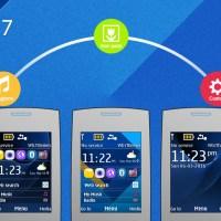 Galaxy 7 style theme X2-00 240x320 s40