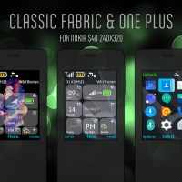 Classic fabric and One plus theme s40 240x320 X2-00 X3-00 Asha 208
