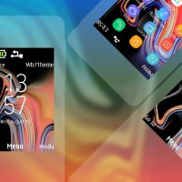 Galaxy Note 9 style theme s40 240x320 X2-00 X3-00 X2-02 Asha 207