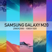 Samsung Galaxy M20 Stock wallpaper high res 2560x2560