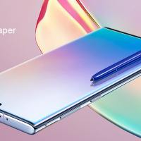 Samsung galaxy note 10 stock wallpaper