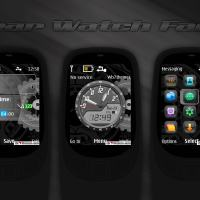 Gear watch face theme analog clock theme X2-00 X2-02 X3-00