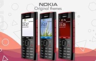 Download Nokia X2-00 original themes wallpapers screensavers