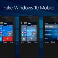 Fake windows 10 mobile theme x2-00 240x320