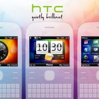 HTC Desire s analog theme for nokia C3-00