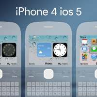 Iphone 4 ios 5 theme X2-01 C3-00 Asha 201 200 205 210 302