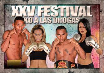 Protagonistas del KO a las Drogas llegan a Venezuela