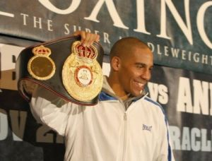 Super champion Andre Ward awarded as boxer of the month