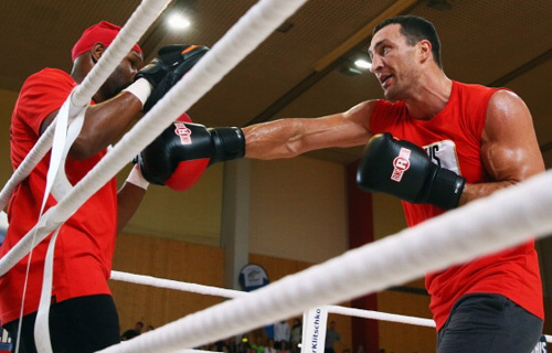 Klitschko vs. Pianeta open workout