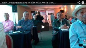 Video: Directory met first-day agenda of Convention in Lima