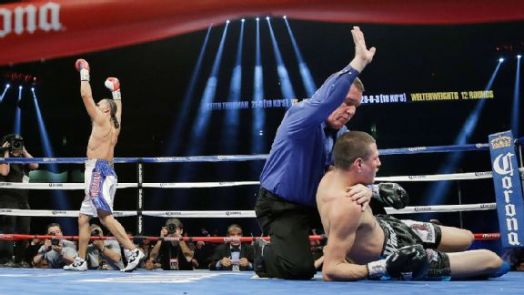 Thurman Breaks Soto Karass With Vicious Knockout