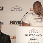Wladimir Klitschko - Alex Leapai Press Conference