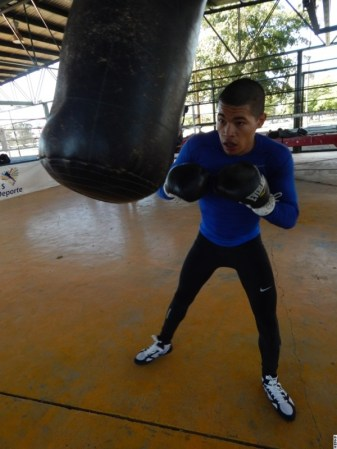 Photos: Jose Felix Jr. Putting in Work For Bryan Vasquez