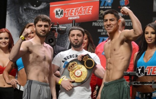 Photos: Khabib Allakhverdiev - Jessie Vargas weigh-in