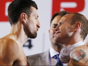 Froch and Groves made weight