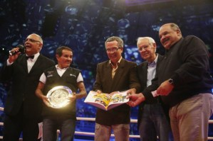 The book Venezuelan boxing: 36 monarchs and a Princess Launched