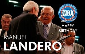 Manuel Landero 90 years of constant struggle